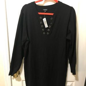 Torrid brand long sleeve sweater dress